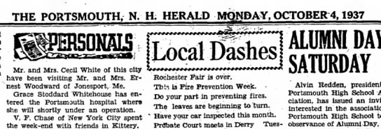 Grace Stoddard Whitehouse 