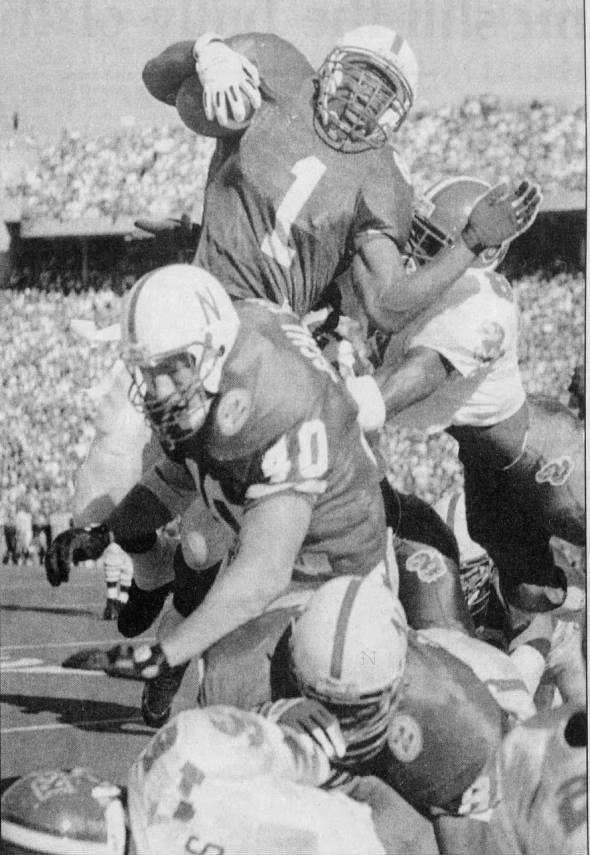 1994 Nebraska-Kansas football, Phillips photo