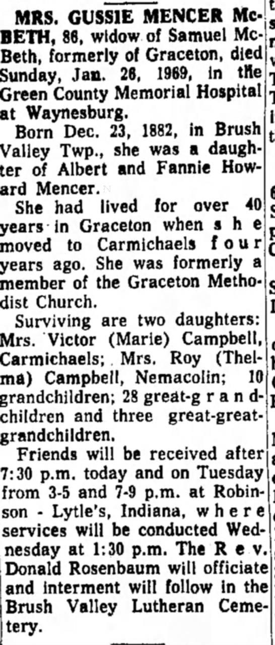 Indiana Gazette, 27 Jan 1969 Page 4