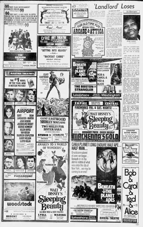 "1970 drive-ins - r Him 'wr wwi'yi y UK i e 'V in nM'""l'l,""""f..."