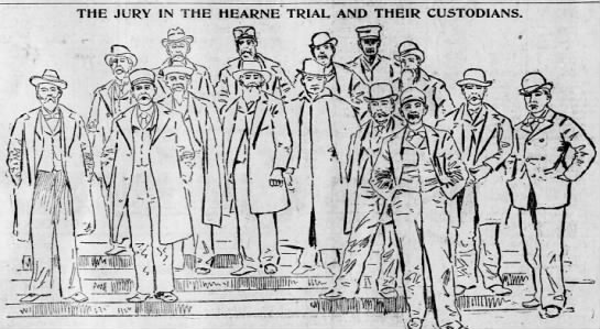 - THE JURY IN THE HEARNE TRIAL AND THEIR...