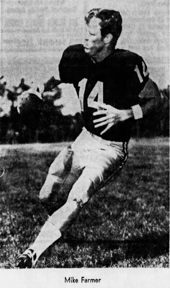 1970.10 Mizzou QB Mike Farmer feature