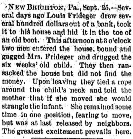 Tyrone Daily Herald (Tyrone Pensylvania) 26 September 1889