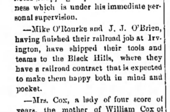 12 June 1890  Humboldt Independent2 - business which is under hia immediate personal...