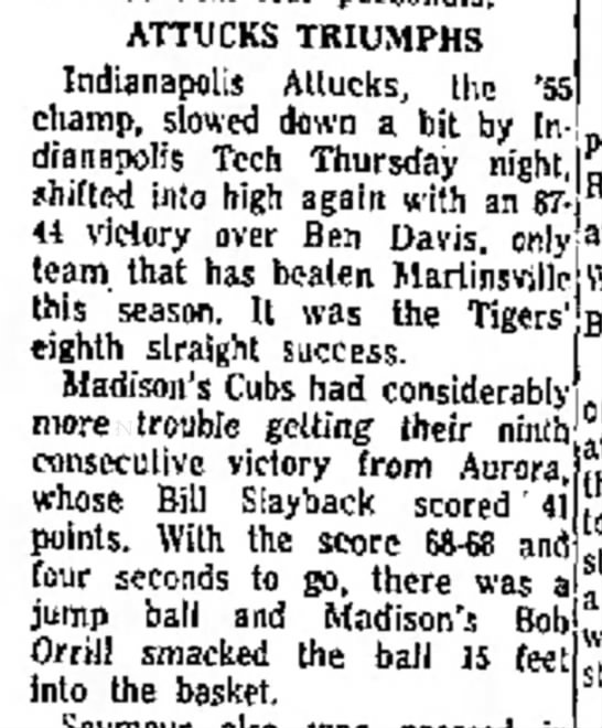 Robert Thomas Orrill- Attucks  Triumphs... - ATTUCKS TRIUMPHS Indianapolis Allucks, the *,...