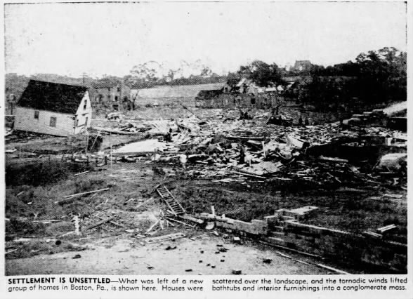 Boston Tornado Damage