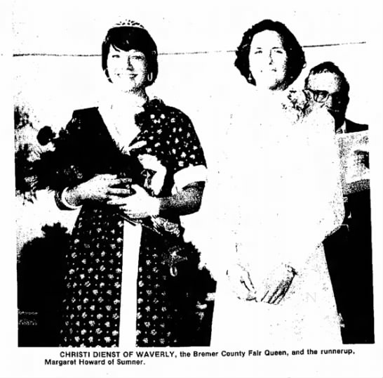 Sumner Gazette, 8/12/76 - CHRISTI DIENST OF WAVERLY, the Bremer County...