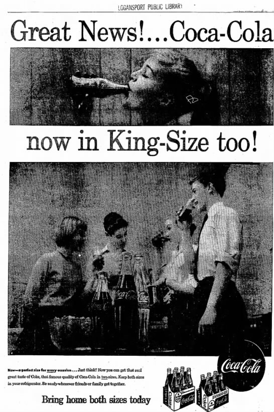 King-size in 1959