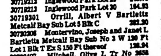 Albert Vernon Orrill- propertyist column bottom