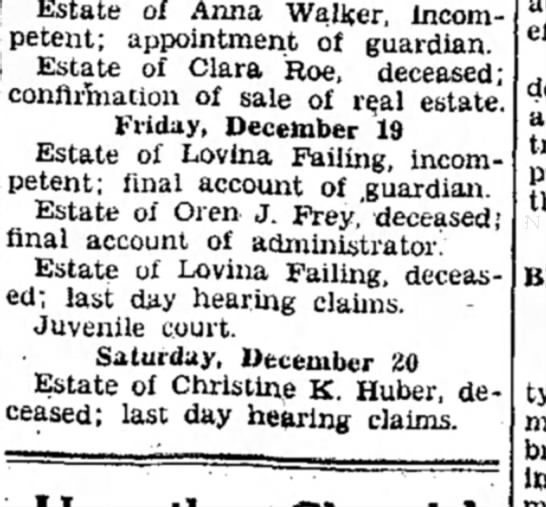 - Estate of Anna Walker, Incompetent;...