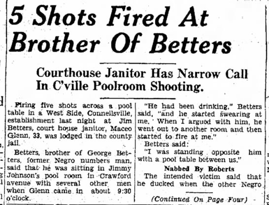5 shots1 james (grandfather's brother) - Named appointed SShots Fired At Brother Of...