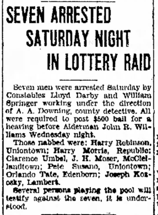 Orlando Tate Arrested In Raid
