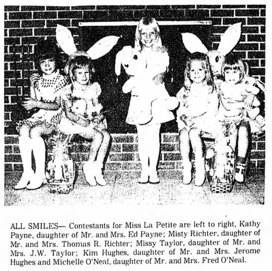 Little Miss La Petite Contest