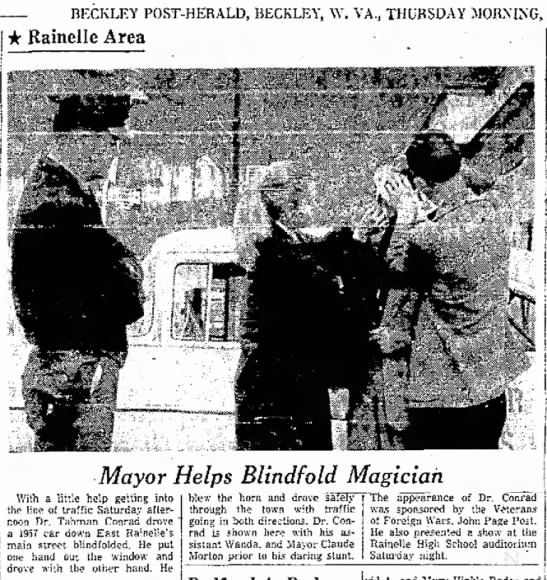 Beckley Post-Herald - Beckley, WV 25 October 1956 - Tahman Conrad - El-l ± R f i i n p l l A AfPfl Mrs.I *...