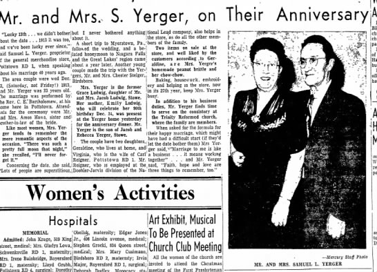 "Yerger, Mr and Mrs Samuel (Ludwig, Jacob) - Mr. and Mrs, S. Yerger, on Their ""Tnrkvisth we..."