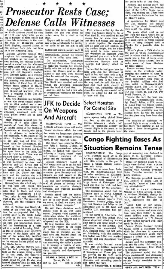 james stevens trile sental 19sept1961 - their U.N. Ham- with by l a n , West, countries...