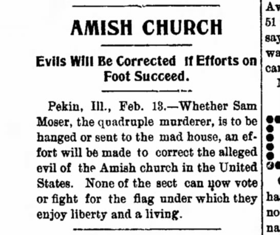 Evils will be corrected 2.13.1901 Sandusky, OH - A/WISH CHURCH Evils Will Be Corrected If...