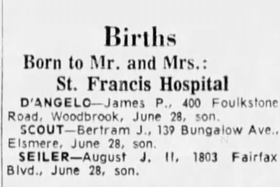 - liirtlis Born to Mr. and Mrs.: St. Francis...
