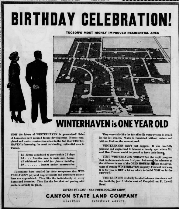 Winterhaven advertisement