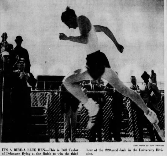 Bill Taylor winner 220 yd dash heat at 1967 MAC. - iwM-rm iwM-rm iwM-rm vn? ' C?v I 1 :;v B W . $...