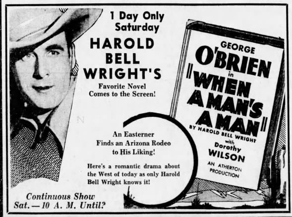 Harold Bell Wright movie