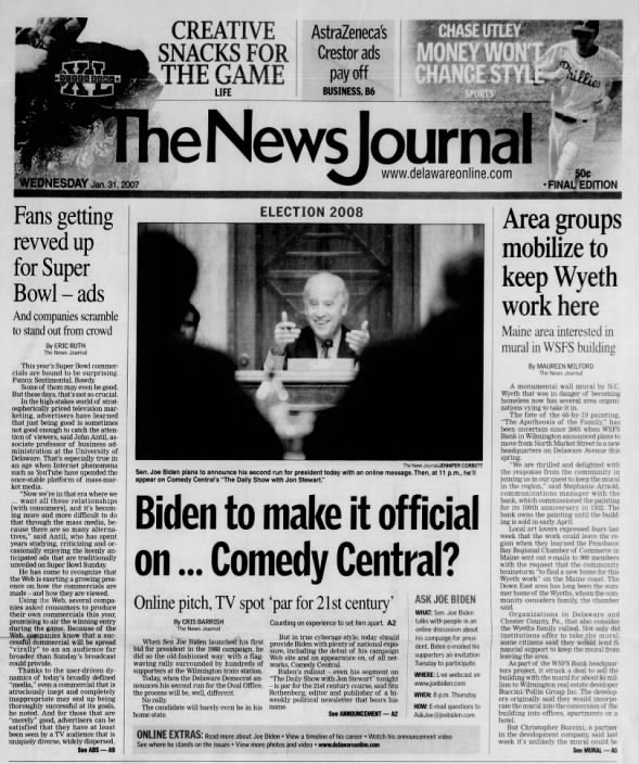 The News Journal - January 31, 2007