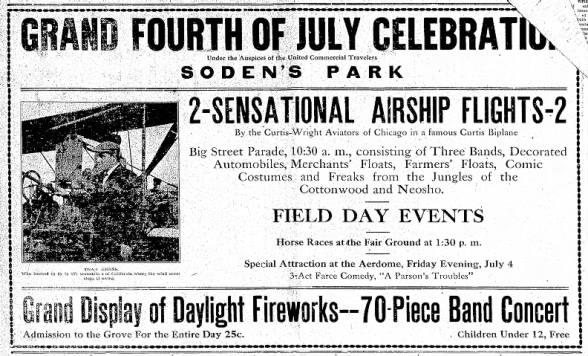 Emporia parade 1913 - 4th of July