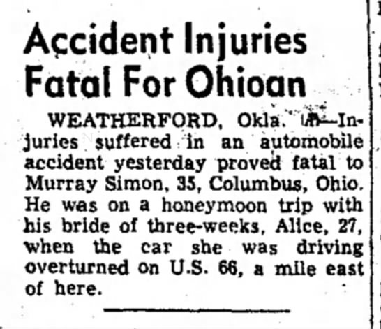 daily reporter, dover ohio, 7/29/55 - Accident Injuries Fatal ForOhioan ^...