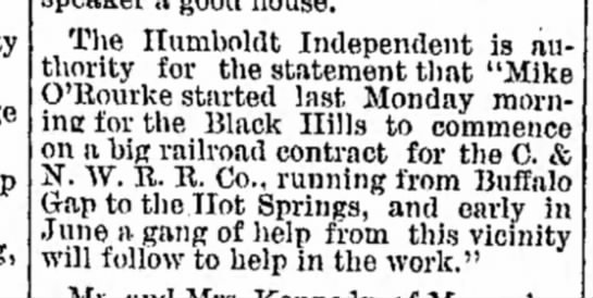algona republican 14 may 1890 - The Ilumboldt Independent is authority...