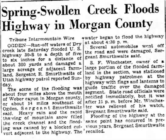 SF Winchester farm floods