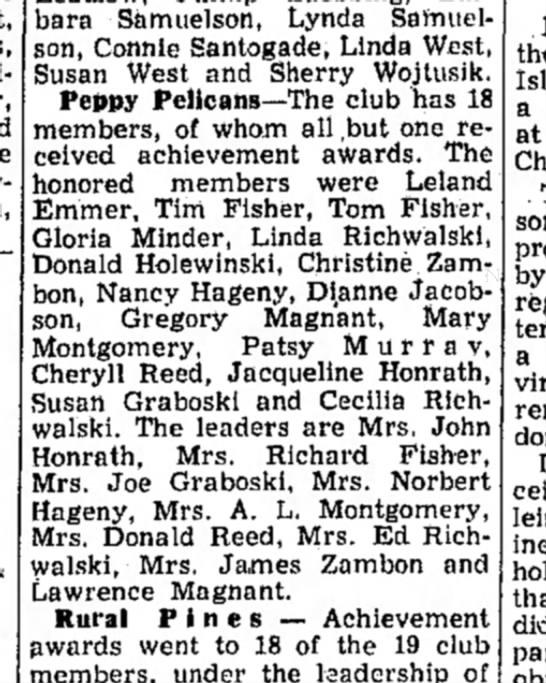 Peppy Pelicans - Barbara Samuelson, Lynda Samuelson, Samuelson,...