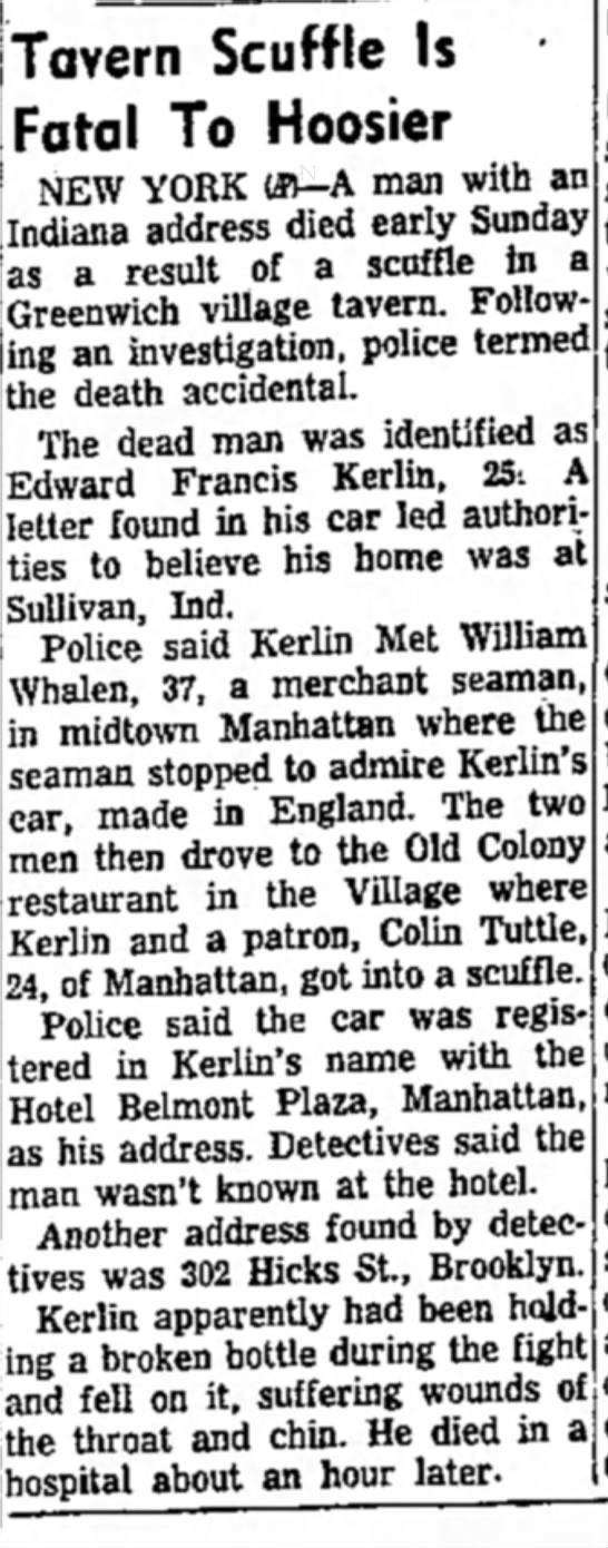 The Kokomo Tribune (Kokomo, Indiana), 5 July 1954, 