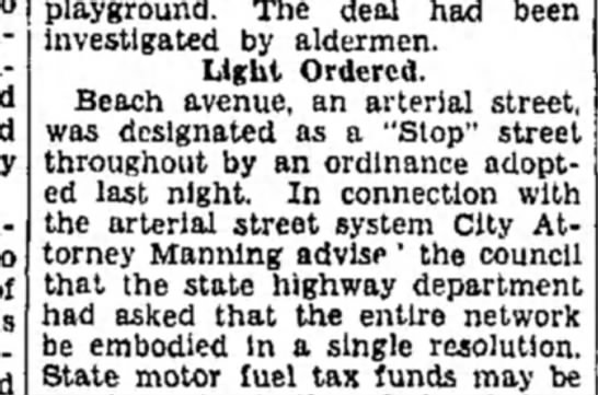 F Manning - )layground. The deal had been investigated by...