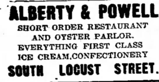 Alberty & Powell Candy Store
