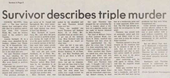 Houston Herald 21 Jul 1977 JLT - Survivor describes triple murder COUNCIL...