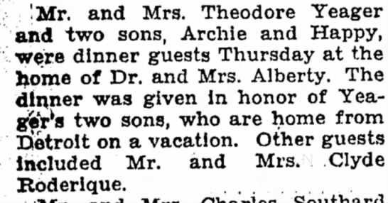 Dr. and Mrs. Alberty