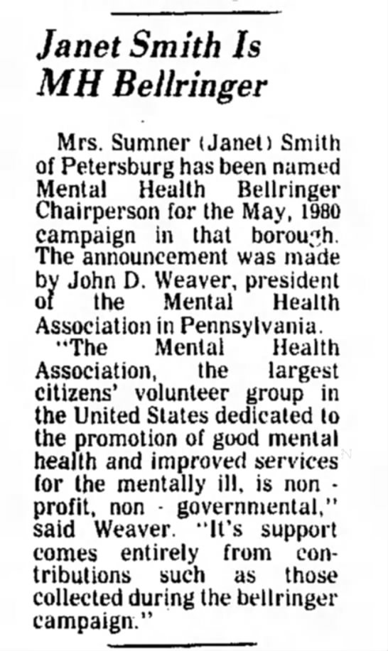 Jan Smith Bellringer