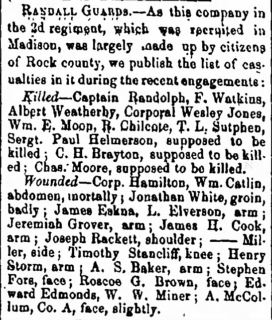 A. McCollum wounded