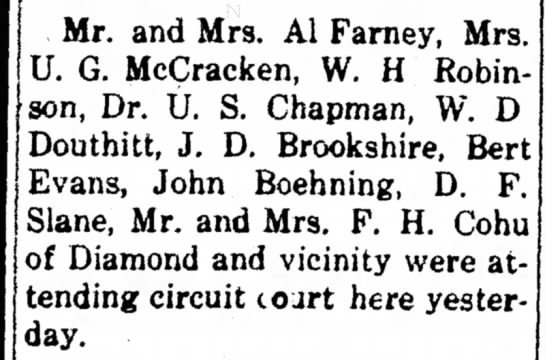 W.D. Douthitt