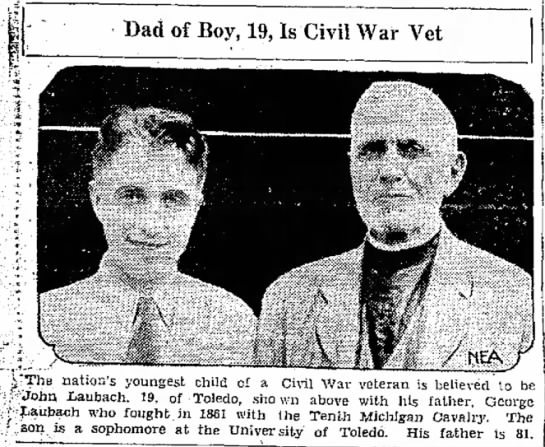 "- Dad of Boy, 19, Is Civil War Vet :""The nation's..."