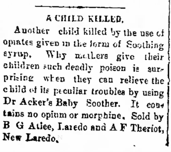 1/31/1891 - A CHILI) KILLED, Another child killed by the...