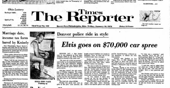 denver 4 16 jan 1976 - more feared than the eventuality of death...
