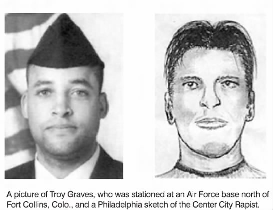Troy Graves: Phila/Ft Collins rapist - A picture of Troy Graves, who was stationed at...