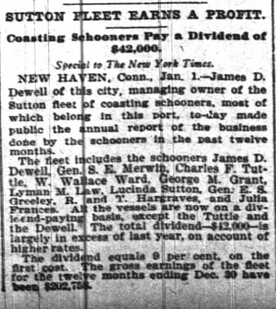 The New York TImes 2 Jan 1900 - f ! STJTT0U' rtnrr pjlkks a psoitt. Ooastlas:...