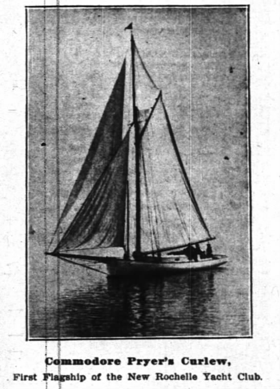 Commodore Charles Pryer's Curlew - ! poaassodore Fryer's Carlew, . First Flagship...