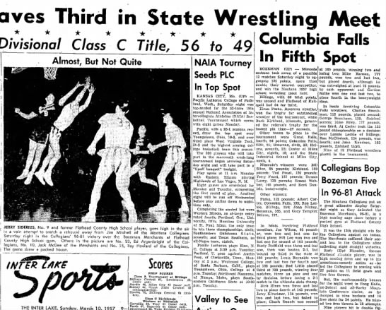 - Braves Third in State Wrestling Divisional...