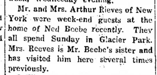 - Mr. and Mrs. Arthur Kieves of York were...