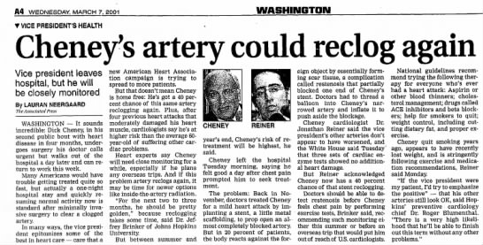- A4 WEDNESDAY, MARCH 7, 2001 WASHINQTON TVICE...