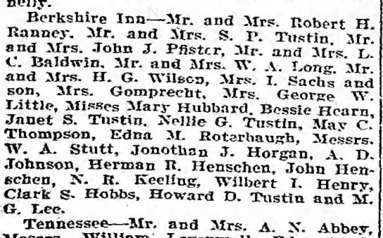 John with 19yr old son Herman at Atlantic City? - Connelly. Berkshire Inn Sir. and Sirs. Robert H...