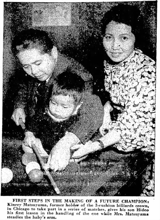 MATSY FOTO 1936 NOV 24 - FIRST STEPS IN THE MAKING OF A FUTURE CHAMPIONi...